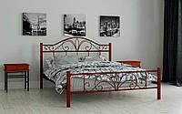 Кровать двухспальная металлическая Элиз