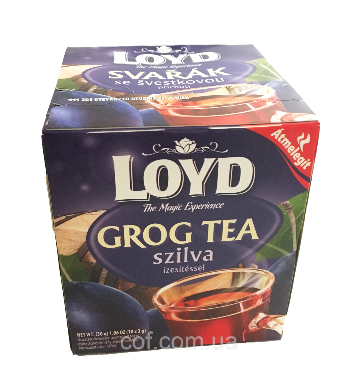 Чай травяной в пакетиках Loyd Grog Tea ароматизированный 30г