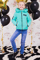 Демисезонная курточка для девочки Косичка, фото 1