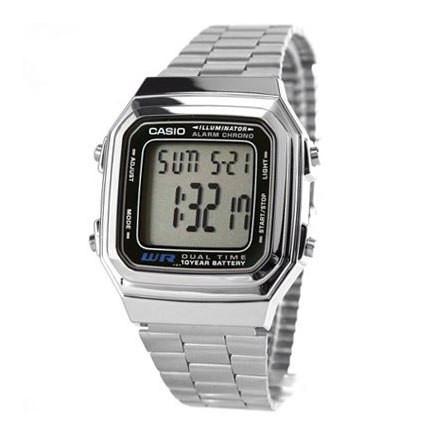 36b44e595ab9 Наручные часы Casio A178WEA-1A серебро (копия)