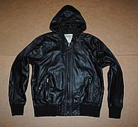 New Look man куртка кожанка, как новая