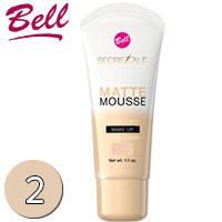 Bell Secretale Флюид матирующий крем-мусс Matte Mousse 30ml Тон 02 natural