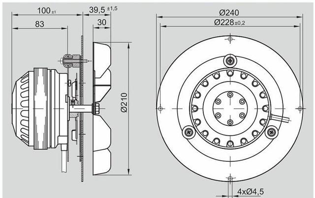 Вытяжной вентилятор: строение и габаритные размеры