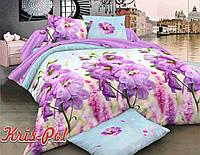 """Семейный комплект постельного белья """"Фиолетовый рай""""."""