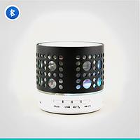 Беспроводная колонка с радио Neeka NK-BT55, Bluetooth-соединение, USB/SD слот, металл/пластик, подсветка