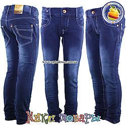 Стрейчеві лосини з джинсової тканини для дівчаток від 7 до 11 років (oj5005)