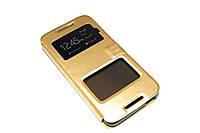 Чехол книжка Momax для HTC Desire 626G Dual Sim золотистый