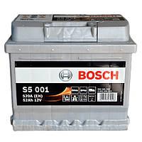 Автомобильный аккумулятор Bosch 6CT-52 S5 Silver Plus (S50 010)