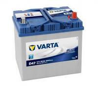 Автомобильный аккумулятор Varta 6СТ-60 BLUE Dynamic Asia (D47)