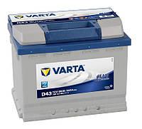 Автомобильный аккумулятор Varta 6CT-60 BLUE Dynamic (D43)
