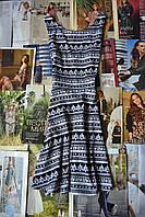Платье в геометрический принт H&M