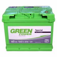 Автомобильный аккумулятор Green Power 6СТ-60 AзE