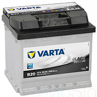 Автомобильный аккумулятор VARTA 6СТ-45 Black Dynamic (B20)