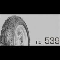 Покрышка бескамерка 130/70-12 HS-539 TL SWALLOW