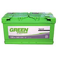 Автомобильный аккумулятор Green Power 6СТ-100 AзE