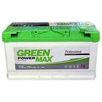 Автомобильный аккумулятор Green Power Max 6СТ-110 AзE
