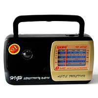 Радиоприемник Kipo KB 408AC, широкий диапазон FM, AM, SW1, SW2, прием ТВ каналов, 220В/батарейки