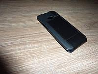 HTC One (e810 M7) Чехол флип / книжка для телефона ILLUSION черный