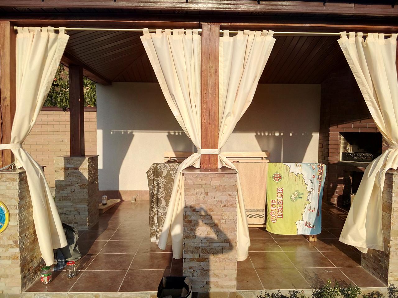 Шторы для веранд, дачные шторы от 10кв метров