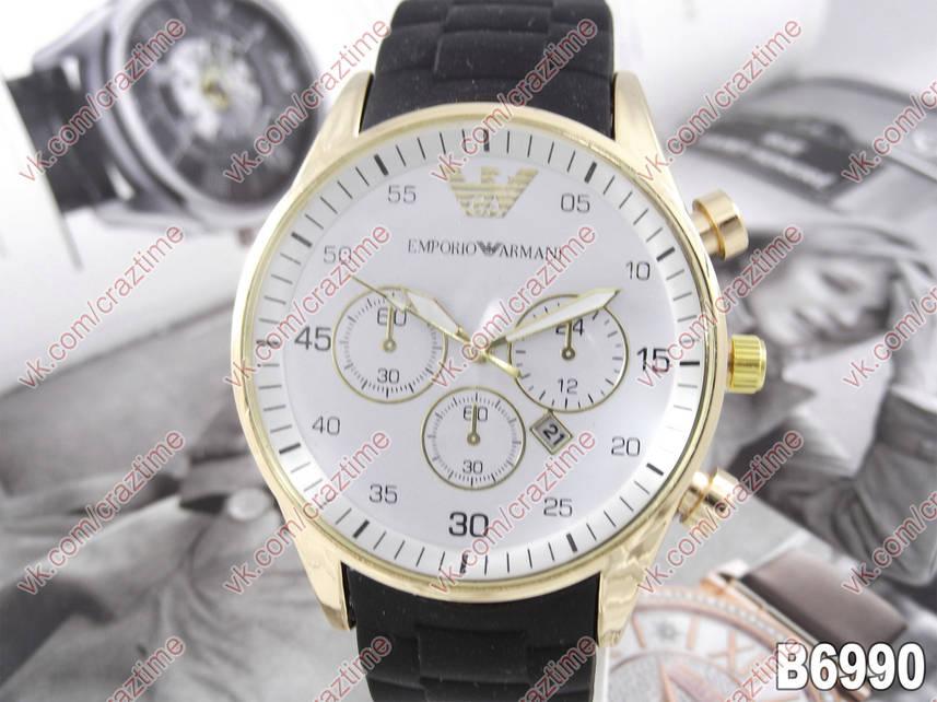 503893b7f21d Мужские (Женские) кварцевые наручные часы Emporio Armani B6990 ...