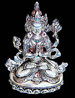 Авалокитешвара статуэтка (серебро)