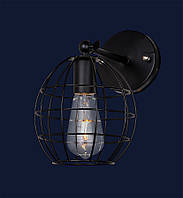Светильник бра LOFT L07W107-1 BK