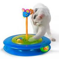 """Petstages Игрушка для кошек """"Трек с мячиком для лакомств"""" арт. 367"""