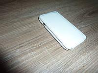 Чехол флип / книжка для телефона HTC One S melkco белая