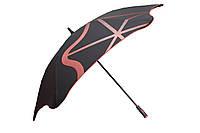 Зонт BLUNT Golf G2 Red черный/красный полиэстер 6 спиц механика Диаметр купола 1460 мм Новая Зеландия