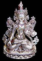 Белая Тара статуэтка (серебро)