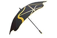 Зонт BLUNT Golf G2 Yellow черный/желтый полиэстер 6 спиц механика Диаметр купола 1460 мм Новая Зеландия