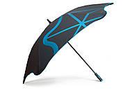 Зонт BLUNT Golf G2 Blue черный/синий полиэстер 6 спиц механика Диаметр купола 1460 мм Новая Зеландия