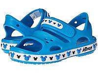 Босоножки Crocs Crocband Mickey, С9, С11, С12