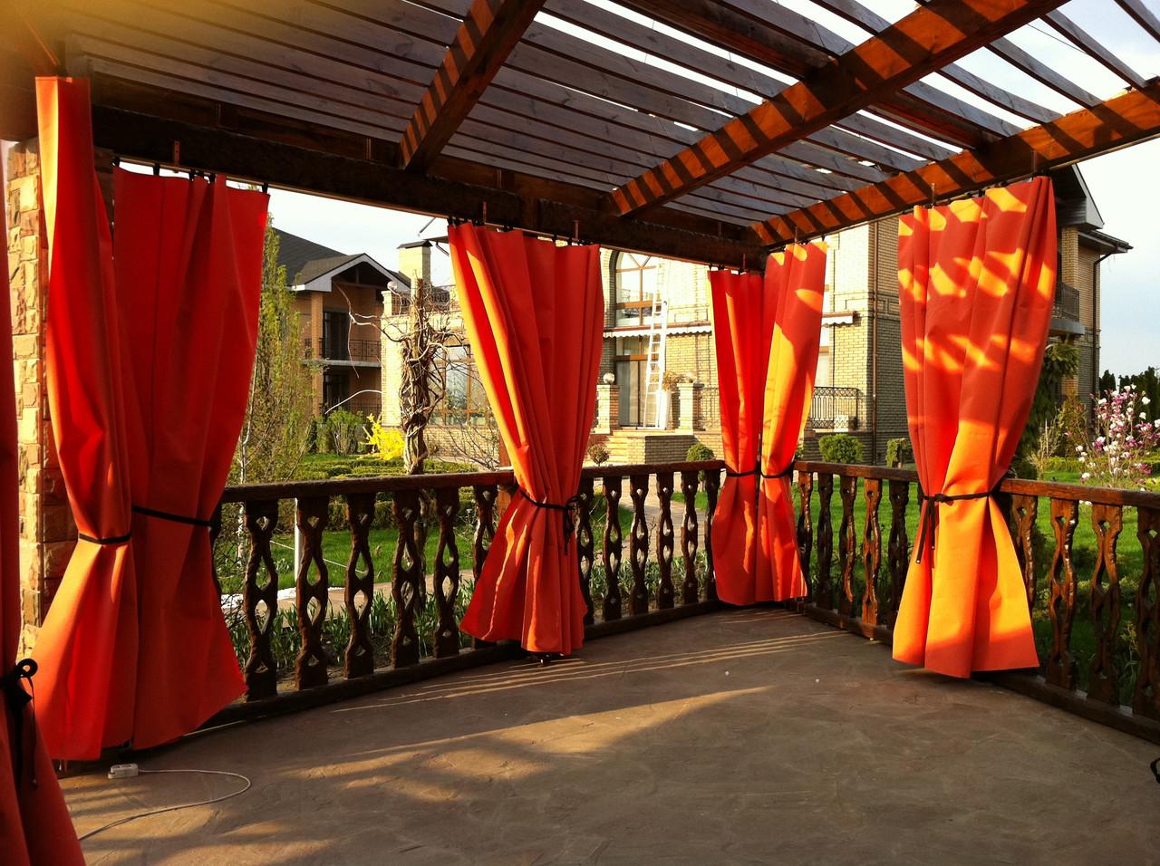 Шторы Кафе, для ресторанов, уличные шторы