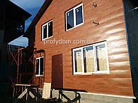 Металлический сайдинг (Стальпанель), золотой дуб, орех, венге, ольха,Одесса, фото 1