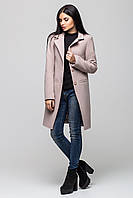 """Пальто женское """"Mirey"""" 46, Бежевый"""