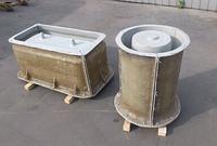 Формы стеклопластиковые для изготовления и производства мытого бетона