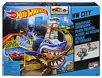 Трек Hot Wheels Охота на акулу серии Измени цвет, Хот вилс Sharkport BGK04