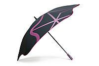 Зонт BLUNT Golf G1 Pink черный/розовый полиэстер 6 спиц механика Диаметр купола 1370 мм Новая Зеландия