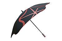 Зонт BLUNT Golf G1 Red черный/красный полиэстер 6 спиц механика Диаметр купола 1370 мм Новая Зеландия