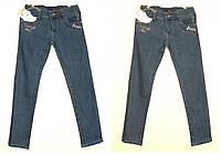 Классические детские джинсы девочка Подросток на рост 128-152 см, весна-осень