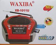 Радио с USB входом, бумбокс WAXIBA XB-1011U, mp3 плеер, FM, поддержка карт памяти, 3 вида питания