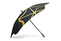 Зонт BLUNT Golf G1 Yellow черный/желтый полиэстер 6 спиц механика Диаметр купола 1370 мм Новая Зеландия