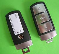 VW - remote smart key 433Mhz 3 кнопки, ID46 MAGOTAN