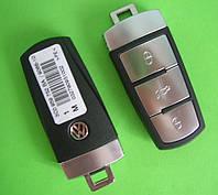 VW - remote smart key 433Mhz 3 кнопки, ID48 MAGOTAN