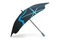 Зонт BLUNT Golf G1 Blue черный/синий полиэстер 6 спиц механика Диаметр купола 1370 мм Новая Зеландия