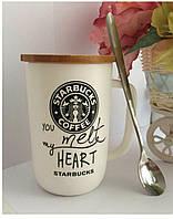 Керамическая чашка для кофе Starbucks, фото 1