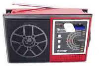 Радиоприемник Golon RX-0024UAR, порт USB, слот для SD карт памяти, встроенный аккумулятор, ремень