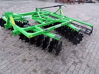 Борона к трактору дисковая 2,1 м. 2 секции Bomet