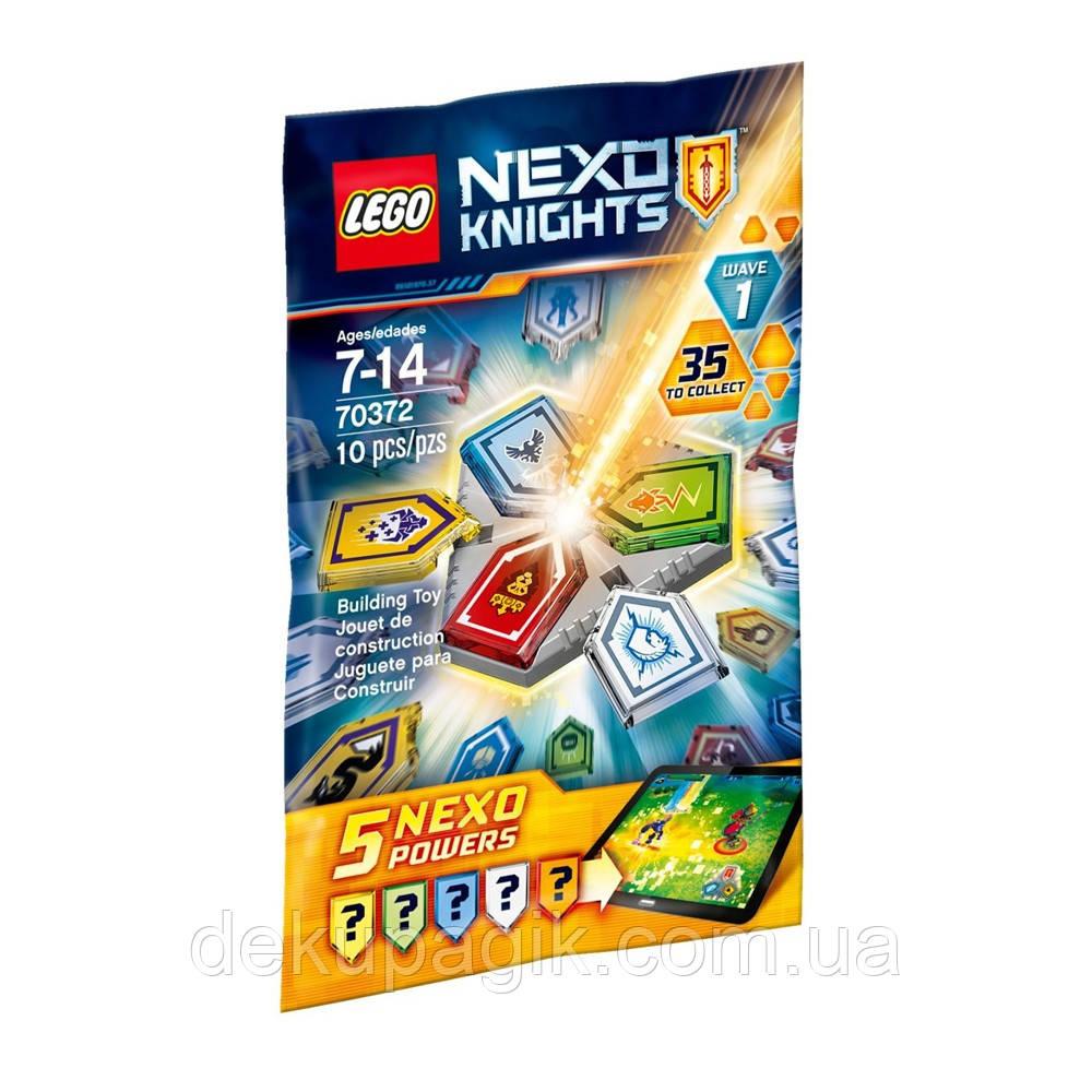 Lego Nexo Knights Комбо NEXO Силы - 1 полугодие 70372
